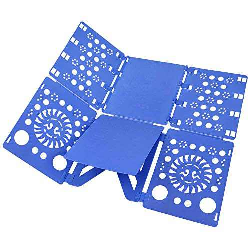 BoxLegend V2 Shirt Folding Board Shirt Folder t Shirts Clothes Folder Durable Plastic Laundry folders Folding Boards