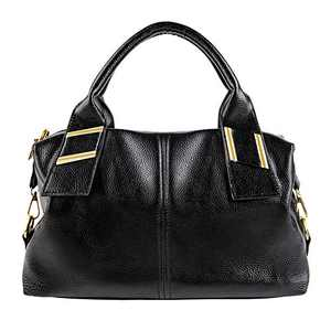 COOFIT Black Handbag for Women, Tote Purses and Handbags for Women Style Sequin PU Leather Shoulder Bag for Women