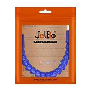 JelBo 11.8'' Flexible Drill Bit Extension, 1/4'' Hex Shank Magnetic Screwdriver Bit Holder Connect Link, Flex Drive Quick Connect Adapter of Power Tools Accessories by Electric Drill(Blue)