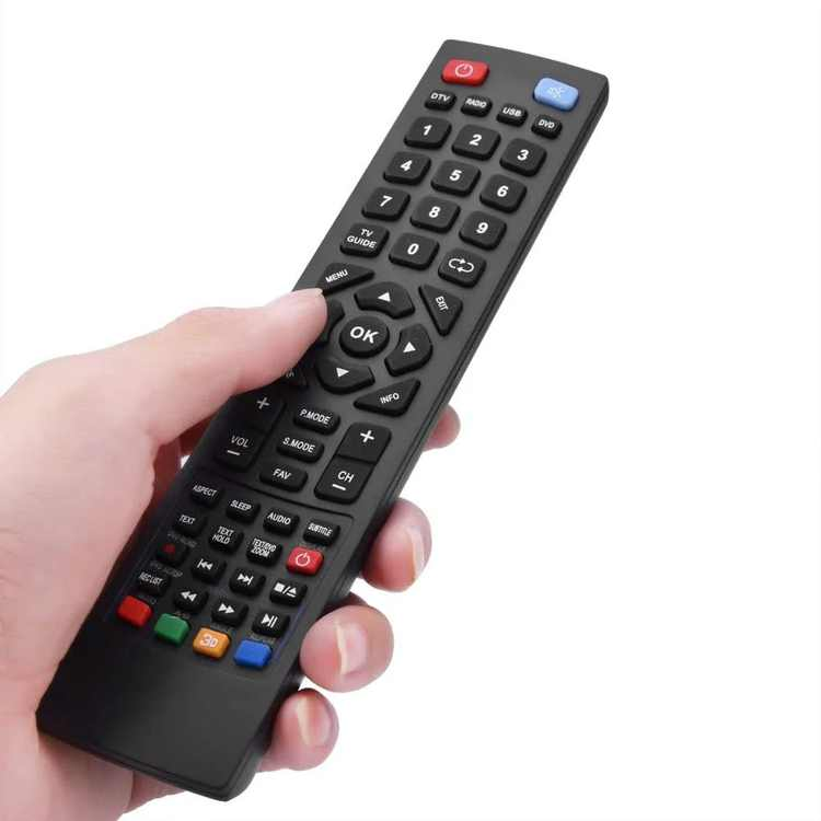 Remotel Control Universal Smart TV Controller Suitable for Alba Bush Technika Blaupunkt Sharp E-Motion