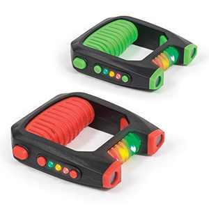 Majik Dueling Laser Tag – Kids Multiplayer LED Laser Tag Set for Indoor & Outdoor Play, 2 Player Pack, Black