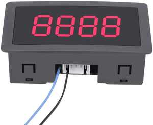 Auto Digital Counter Mini 4 Digit 0-999 Counter Up/Down Plus/Minus Panel Counter Meter with Cable