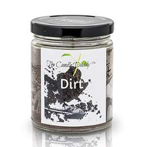 Dirt Scented Candle - 6 Ounce Jar Candle- Hand Poured in Indiana