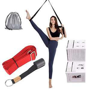 UBING Leg Stretcher, Door Flexibility Trainer and Stretching Leg Strap for Ballet Dance Gymnastics Training, Include Detailed Exercise Instruction and a Portable Carry Bag