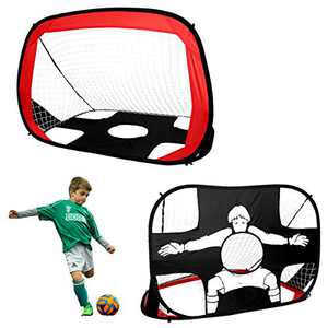 Sanoto Soccer Goal, Pop Up Kids Soccer Net for Backyard Outdoor Indoor Playing