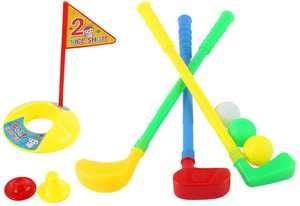 VOSAREA Plastic Golf Club Set Kids Sport Toy for Indoor Outdoor