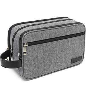 Dopp Kit Toiletry Bag Travel Toiletries Bag Shaving Shower Cosmetic Organizer for Women Men