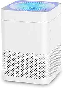 Air Purifier Filter- 3-in-1 True HEPA Air Purifier Filter, Air Choice Reduce Pet Dander, Household Odor, Smoke & Dust, Home & Office Used, Sleep Mode & Auto Mode, Quiet Operation, Auto Replacement Reminder