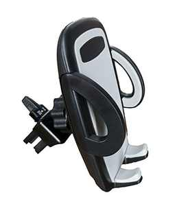 Cell Phone Holder for Car Air Vent, Oternal Car Phone Mount, 3-Level Adjustable Clamp, Compatible for iPhone Xs/XS MAX/XR/X 8/8 Plus/7/SE /6s /6 Plus /6, Samsung Galaxy S6/S5/S4 and More (Gray)