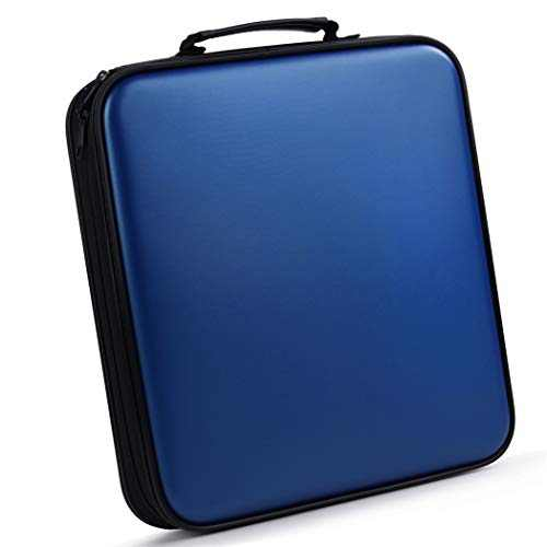 Bageek CD Case DVD Case CD Holder DVD Storage CD Storage for Home Travel Flexible Plastic Protective (160 Capacity)