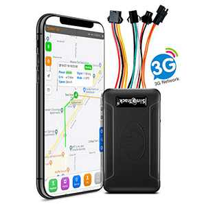 SinoTrack Car GPS Tracker, ST-906W 3G GPS Tracker Locator Real-Time Location Tracking Device with Voice Monitor Car Motorcycle GPS Device for Truck Taxi