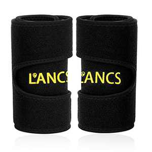 LANCS Sauna Arm Trimmer Sweat Bands for Weight Lose Neoprene Arms Slimmer Shaper Workout Gym Fitness(Pair)