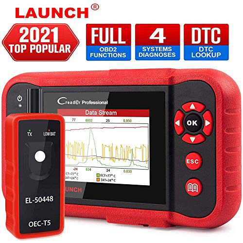 LAUNCH CRP123 OBD2 Scanner Engine/ABS/SRS/Transmission Code Reader Car Diagnostic Scan Tool,Full OBDII Modes Automotive Scanner,Live Data Stream Graph,Free Update