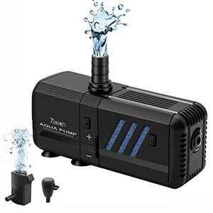Aquarium Water Pump Air Bubble Fish Tank Water Circulation System air Charging WaveMaker (25W 500L/H) By Zision