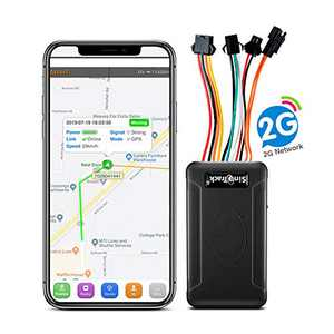 SinoTrack GPS Tracker for Vehicles ST-906,Real-Time Car GPS Tracking Device Locator with Anti Theft Alarm SOS Button Voice Location for Car Motorcycle Trucks,Support Tracking Platform Lifetime
