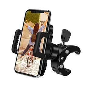 Bike Phone Mount, Eocean 360° Rotatable Adjustable Silicone Phone Holder Universal Bike Cell Phone Mount for Ring Light Tripod, iPhone Xs/Xr/Xs Max/X/8/8Plus/7/Galaxy Note 9/S9/Huawei