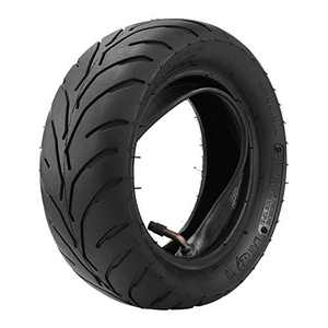 lzndeal Motorcycle Tires-Front Rear Tire+Inner Tube 90/65/6.5 110/50/6.5 for 47cc 49cc Mini Pocket Bike