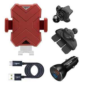 Wireless Automatic Sensor Car Phone Holder and Charger, VOLPORT 10W 7.5W Auto Clamping CD Slot & Air Vent Phone Mount with 39W Fast Charging Adapter for iPhone 11 Pro Max Xs Max XR Samsung S10+ S10e