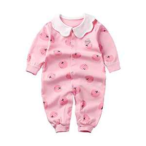 SeClovers Baby Girls Long Sleeve Romper- Infant Girls Autumn Jumpsuit Onesies Outfit