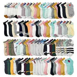 Wholesale Socks Bulk Women 20 Pack Ankle Low Cut