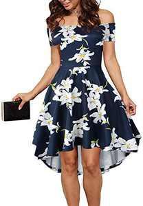 CUQY Prime Wardrobe Womens Clothing Dresses (FBA) (Pat-3, XL)