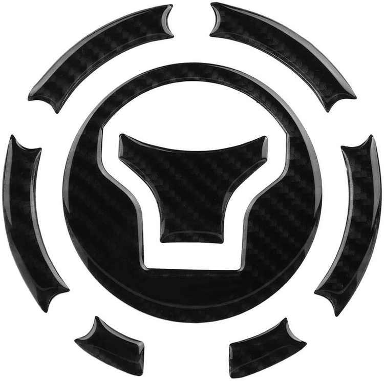 Fydun Motorcycle Decorative Sticker Tank Gas Protector Tank Pad Sticker Fit for CB650F CBR650F VFR800X VFR800 CBR500R CB500X CB500F MN4 Crosstourer1200