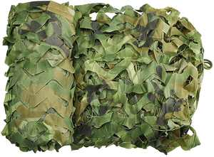 Wilxaw Camo Netting Camouflage Net for Garden Decoration 2m x 3m kids Army Accessories Oxford Cloth Camping Shelters for Outdoor Sunshade Hunting CS Competition