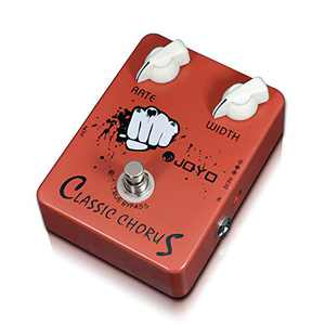 JOYO JF-05 Chorus Effect Pedal for Electric Guitar Crisp & Transparent Classic Pedal Analog Chorus Guitar Pedal Clear Chorus Sound True Bypass