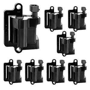 Ignition Coils 8 Pack Compatible with GMC Savana Sierra 1500/2500/3500 Yukon/XL - Cadillac Escalade - Chevrolet Silverado Express Avalanche Suburban Tahoe