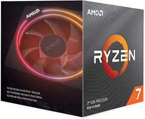 AMD Ryzen 7 3700X 8-Core, 16-Thread Unlocked Desktop Processor with Wraith Prism LED Cooler
