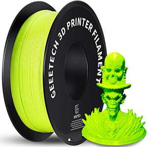 Geeetech 1.75mm PLA 3D Printer Filament, 1kg Spool (2.2lbs), Upgrade Tidy Winding Tangle-Free, Dimensional Accuracy +/- 0.03mm, Apple Green