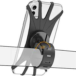 huangzhao Phone Holder for Bike Phone Mount Holder Mountain Bike Phone x Mount Universal 360°Rotation Motorcycle Phone Mount Handlebar Silicone Cell Phone Holder for Phone Xs X XR 8 7 Plus