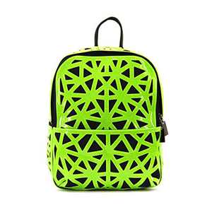 Fashion Backpack Geometric backpack Laser Backpack for women