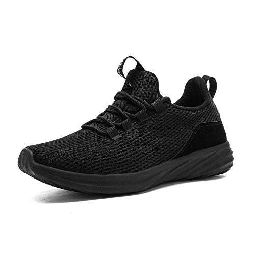 DREAM PAIRS Women's All Black Walking Shoes Lightweight Sneakers Size 6.5 M US DHF19002L