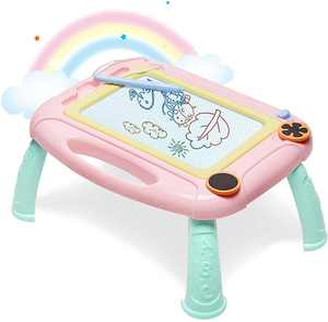 GIFT4KIDS New Upgraded Magnetic Drawing Board for Kids and Toddlers - Gift for Girls Boys