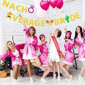 Nacho Average Bride Bachelorette Party Banner & Sash Bridal Shower- Final Fiesta Party Supplies- Wedding Party- Mexico Bachelorette Theme Party Decorations