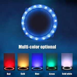 Blinngo Cornhole LED Board Lights, LED Cornhole Lights Meet Regulation Cornhole Boards(4 feet x 2 feet), Waterproof Cornhole LED Lights (Two Set)-Blue