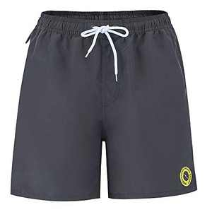 Yaluntalun Men's Board Shorts Quick Dry Swim Trunks No Mesh Lining with Pockets
