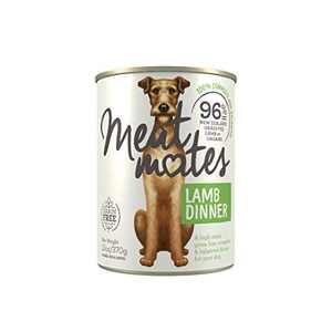 Meat Mates BPA-Free & Gelatin-Free Canned Dog Food, Lamb Dinner 13oz 12 Pack