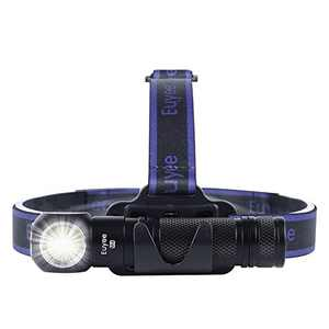 Euyee M4-Pro Flashlight, Brightness 2000 Lumens Headlamp with 5 Modes,Magnetic Base,Adjustable Handsfree Headrope,USB-C Quick Charge for Camping,Hiking and Emergency