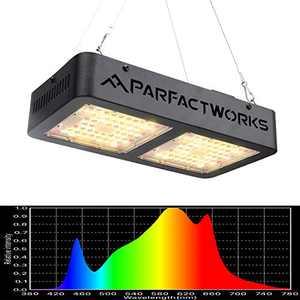 PARFACTWORKS RA1000 LED Grow Light Hydroponic Full Spectrum Plant Light for Indoor Plants Veg Flower Medical Plant Lamp Panel Greenhouse Lighting