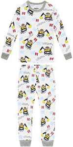 Boys Truck Pajamas Baby Clothes Kid Children Cartoon PJs Set Sleepwear 7t