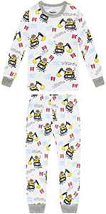 Boys Truck Pajamas Baby Clothes Kid Children Cartoon PJs Set Sleepwear 3t