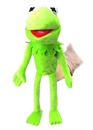 illuOKey Kermit The Frog Puppet, The Muppets Movie Soft Stuffed Plush Toy, 20 inches