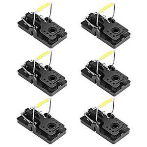 ASPECTEK Mouse Traps, Reusable and Easy to Use Small Rodent Mice Traps-6 Pack