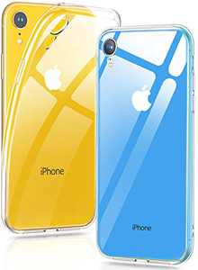 iPhone XR Case Clear, Humixx Case for iPhone XR Passed Anti-Yellow & 1.5 Meter Anti-Drop Test, Ultra-Thin and Crystal-Clear, iPhone Without Bubble