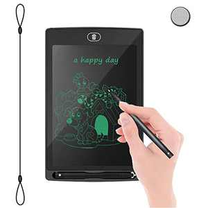 "LCD Writing Tablet Drawing Board - Educational Christmas Girls Toys Gifts Electronic Writing Board, 8.5"" Handwriting Tablet,Fridge Memo Note Pad for Kids/Adults at Home,School,Office(Black)"