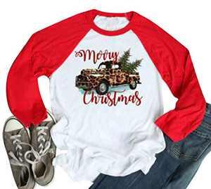 Baby Its Cold Outside T Shirt Women Cute Snowman Graphic Print Shirt Raglan 3/4 Sleeve Christmas Tee Tops (Z-White, Medium)
