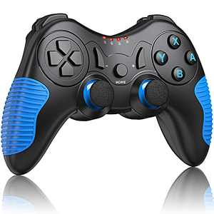 JACKiSS PRO Wireless Pro Controller for Switch Controllers,Pro Controller Compatible with Switch/Switch Lite, Remote Control for Switch Controller Wireless with Dual Motion/Vibration/Screenshot-Blue