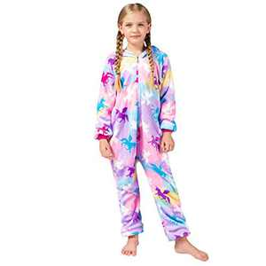 Girls Onesie Pajamas, Animal Cosplay Costume for Kids